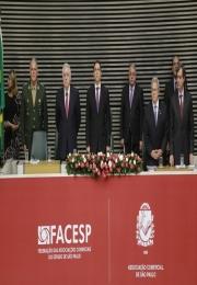 Posse de Alencar Burti como presidente da ACSP e da Facesp reúne 650 na Assembleia Legislativa