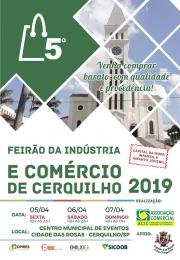 5° FEIRÃO DA INDUSTRIA E COMERCIO DE CERQUILHO