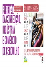 6º Feirão da Confecção, Indústria e comércio de Cerquilho